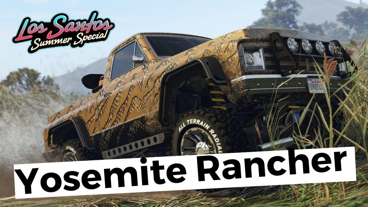 Custom de la Yosemite Rancher, le meilleur véhicule de ce pack été? | Extrait Live Twitch