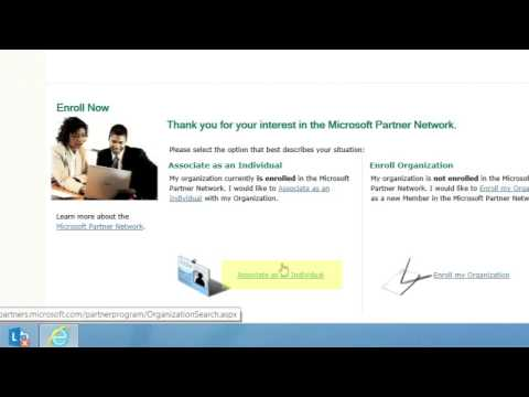 Microsoft Partner Network: How To Associate Your Microsoft Account With MPN ID