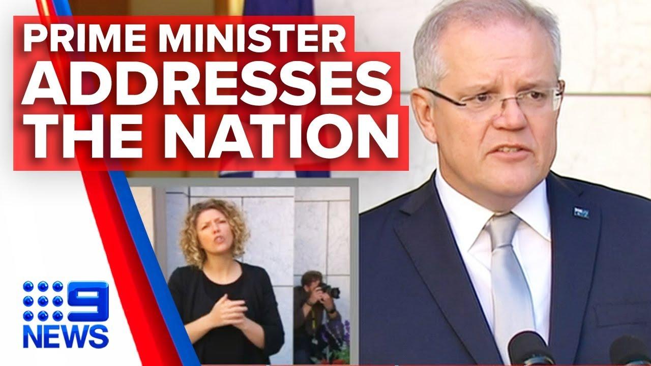 Coronavirus: PM announces new measures to fight COVID-19 in Australia | Nine News Australia