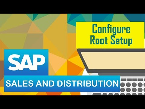 SAP SD | TRANSPORTATION in sales and distribution module in SAP ERP | Configure Route setup