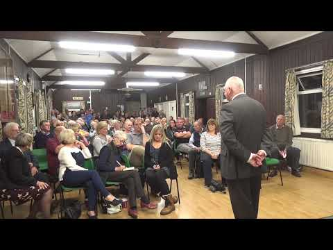 CARTERTON PUBLIC MEETING - BOLLARDS , SWINBROOK ROAD VID 2