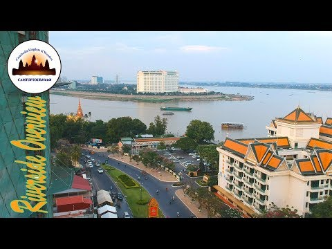 Phnom Penh Riverside Overview – Angkor Wat Tours – Tours of Cambodia – Phnom Penh Travel