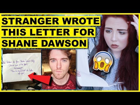 I Received A SCARY Letter For Shane Dawson | HE MUST SEE