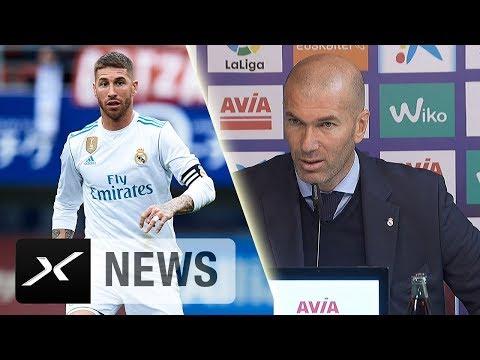 Zinedine Zidane: Sergio Ramos hat sich in die Hose gesch*ssen | Real Madrid