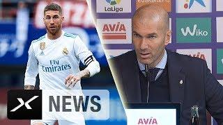 Zinedine Zidane: Sergio Ramos hat sich in die Hose gesch*ssen | Eibar - Real Madrid 1:2