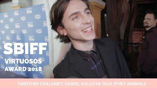 SBIFF 2018 | Timothée Chalamet, Daniel Kaluuya Talk Spirit Animals
