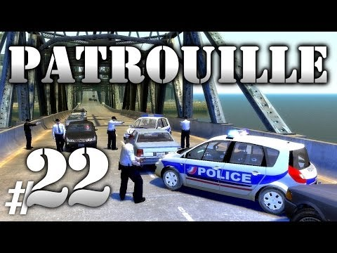 GTA IV Mods French : PATROUILLE 22 | SCENIC POLICE NATIONALE