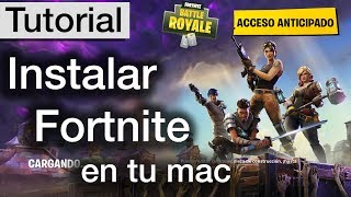 How to install Fortnite for mac for FREE Easy tutorial in Spanish