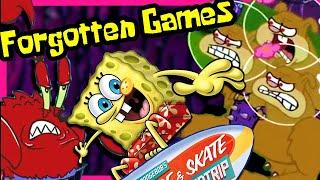 The 6 Bizarre Forgotten Spongebob Games