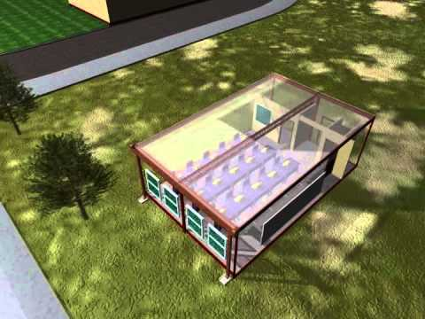 Green Product Tech. - Animation of Modular Barracks Construction