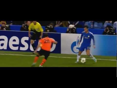Juan Mata and Eden Hazard Having Fun vs Shaktar Donetsk HD 720p