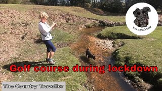 A 15 min extract of a walk around a deserted golf course during the coronavirus lockdown
