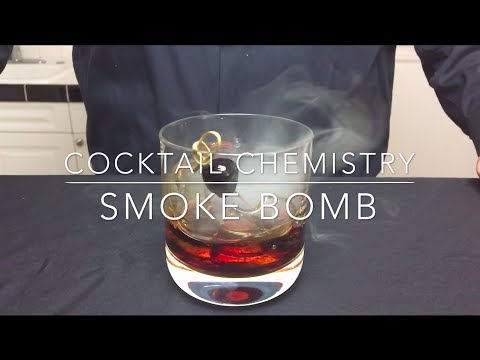 "How to make a ""smoke bomb"" cocktail"