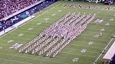 Fightin' Texas Aggie Band! The Best Half Time Show Ever!