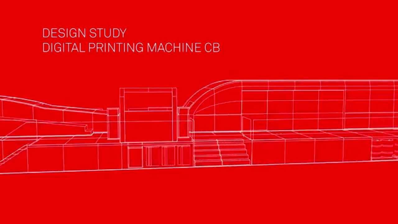 Color printing bobst - Bobst Digital Printing Press For Corrugated Board Design Study