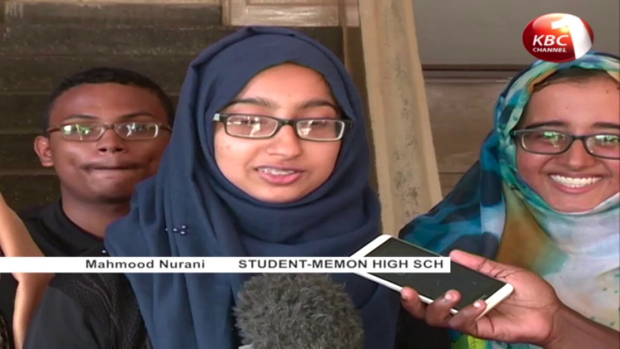 Celebrations rocked Mombasa County as results of KCSE examination trickled in