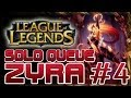 SINVICTA SOLO QUEUE - ZYRA #4: MUCH IMPROVED! [League Of Legends HD]