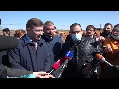 Губернатор Сергей Фургал совершил объезд строек социальных объектов Хабаровска и Хабаровского района