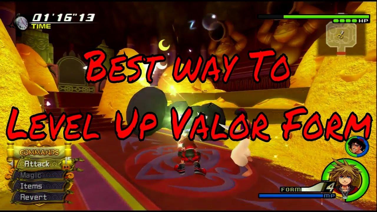 How To Level up Valor Form - Kingdom Hearts 2.5 - YouTube