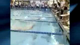 Michael Phelps - Suffers First Swim Finals LOSS - 05-17-09