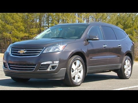2014 Chevrolet Traverse Review