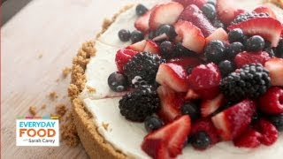 No-bake Red, White And Blue Cheesecake - Everyday Food With Sarah Carey