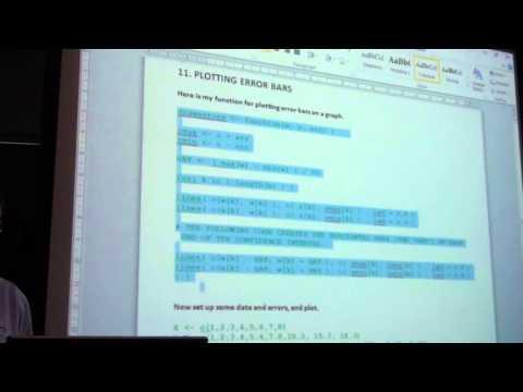 Wellington R Users Group -  17 March 2014 - David Lillis - Sigma Statistics & Research Ltd