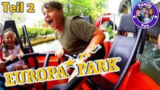 EUROPA-PARK ACTION ERLEBNIS Tag 2 | Adrenalin Pur in Achterbahnen | FAMILY FUN