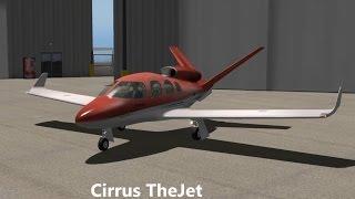 X-Plane 10:  Cirrus Jet - First Flight
