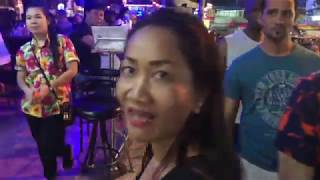 Thailand April 2018 VLOG 3 - First Night Out in Pattaya on the way to Walking Street