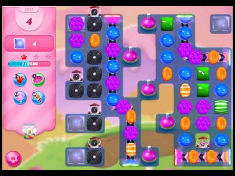 Candy Crush Saga Level 3231 - NO BOOSTERS