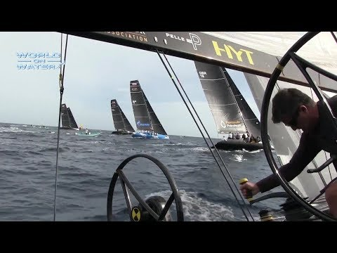 """World on Water TV"" December 01 17 Volvo Ocean Race Leg 2 Finishers, RC 44, Kites"