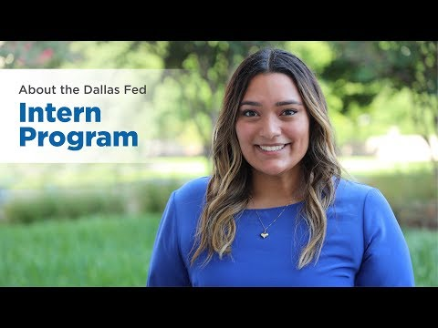 Dallas Fed Internship Program