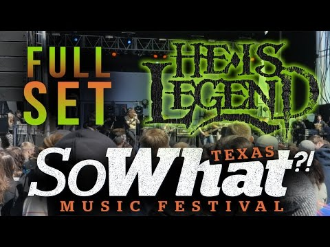 HE IS LEGEND - Full Set LIVE 2016 @ So What?! Festival