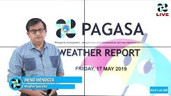Public Weather Forecast Issued at 4:00 AM May 17, 2019