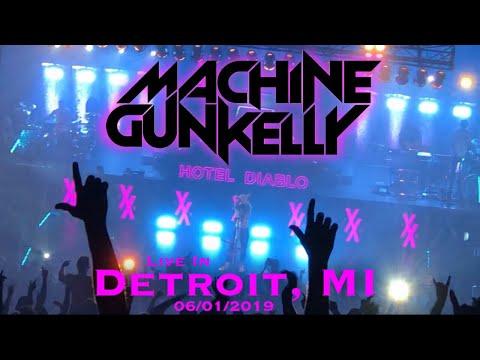 MGK Hotel Diablo Tour live in Detroit, MI 06/01/19 (Full Set)
