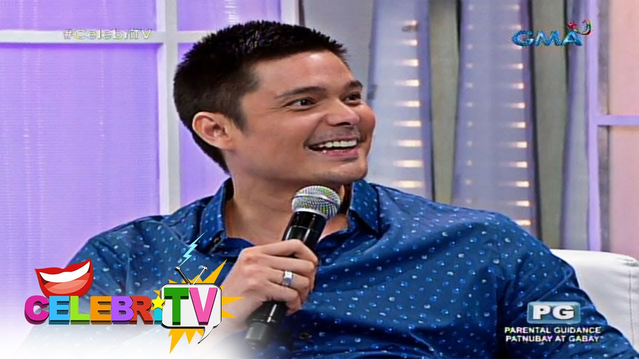 CelebriTV: The new daddy, Dingdong Dantes - YouTube