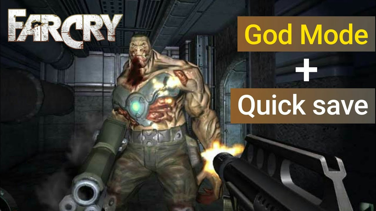 Far Cry 1 God Mode And Quick Save Easy Cheats Youtube