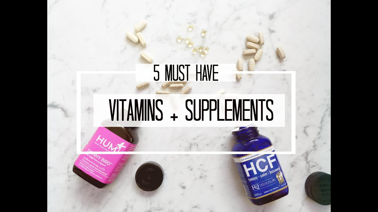 5 Best Supplements And Vitamins Weight Loss Anxiety Overall Health