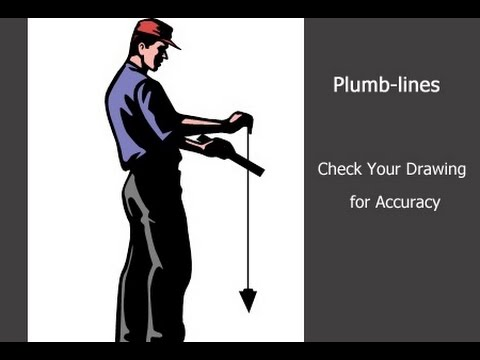 Example Of Using Plumb Lines Youtube