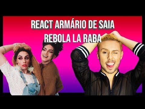 REACT ARMÁRIO DE SAIA - REBOLA LA RABA  GabreCordeiro
