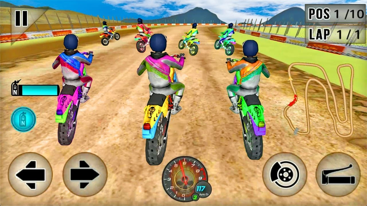 Juegos de Motos - Dirt Track Racing 2020 - Motos de Carrera