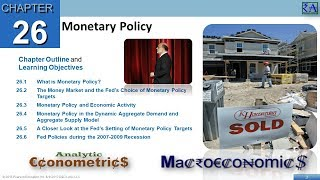 Chapter 26: Monetary Policy
