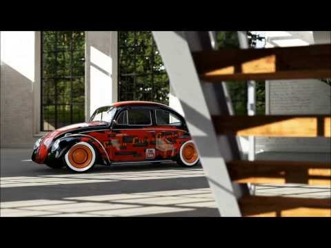 Forza 5 : YouTube VW Beetle 2.0L RWD (Civic Engine) Bernese Alps 1080p