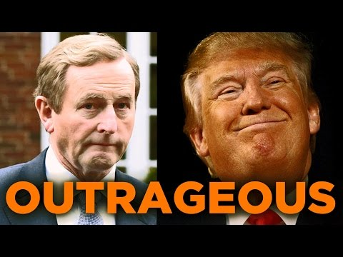 Enda Kenny on Trump Before & After