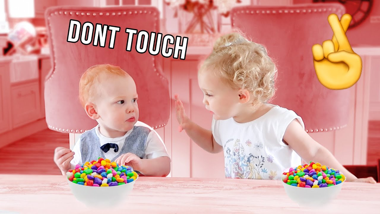 DON'T TOUCH THE CANDY CHALLENGE!