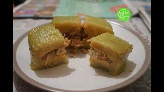 Square Sticky Rice Cake Recipe – Instant Pot/Pressure Cooker - Cách Gói và Nấu Bánh Chưng