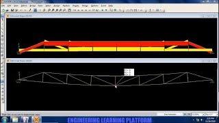Truss analysis using SAP2000 - Tutorial