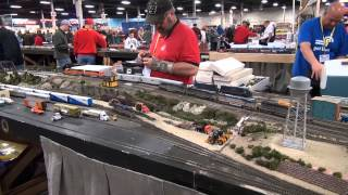 Layouts At The Big E Train Show (1/26/2013 & 1/27/2013)