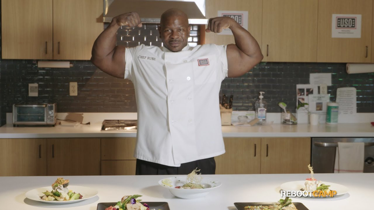 Why Chef Rush does 2,222 push-ups a day